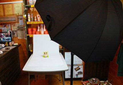 on-location- product-photography-setup