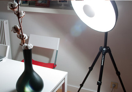 Diy Beauty Dish - In Action!!!