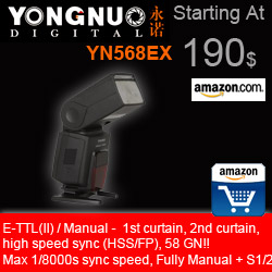 Go to Amazon and buy a YN568EX