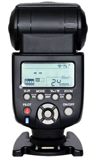 The New YN560iii has a freshh LCD design