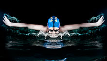 Swim Sport Photography – Two lights setups