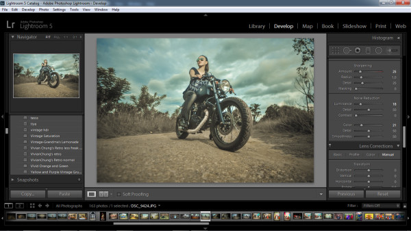 biker photography - step 7