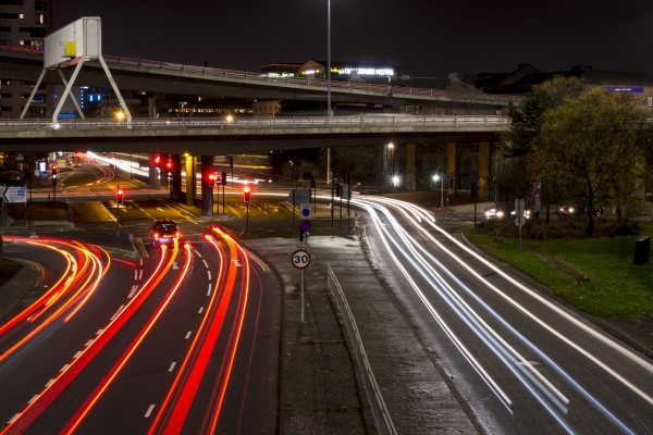 Long exposure - Light trails