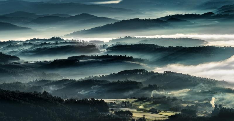 amazing fog image