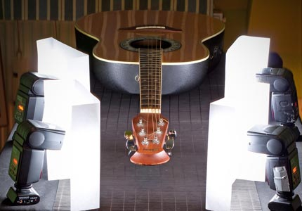 How to photograph your Guitar tut
