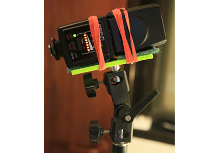 Horizontal Flash Holder – 3 bucks per unit!!!
