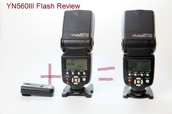 YN560III Review – First built-in radio trigger flash