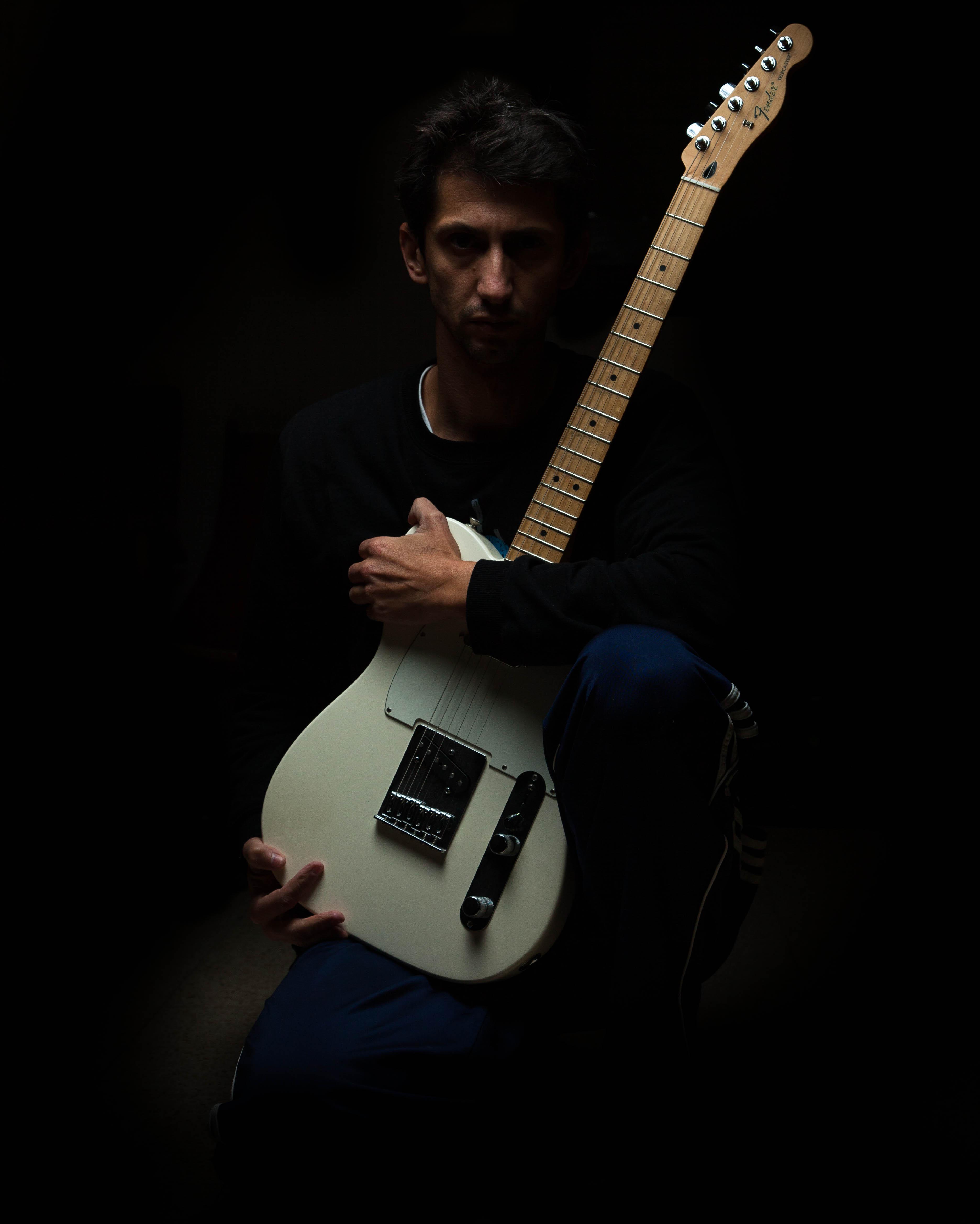 The guitar self portrait
