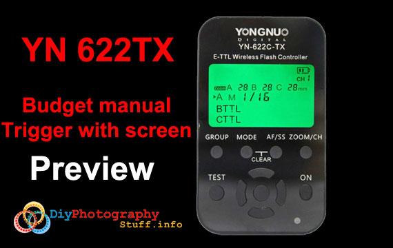 YN622 tx review – wireless flash trigger
